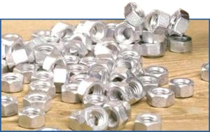 Zinc Plated Nuts